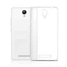 0.3mm Clear Rubber Soft TPU Cover Case For Xiaomi Redmi Hongmi Catatan Note 2-Clear