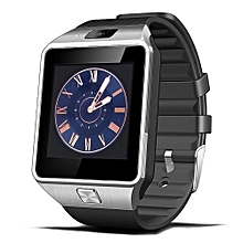 Bluetooth 3.0 Smart Watch Phone MTK6261 Micro SIM Card with Camera Touch Screen for Android iOS - Black