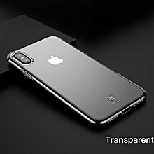 Baseus For iPhone X Case, Ultra Thin Soft Silicone Case For iPhone X Anti Knock Transparent Protective Phone Accessories (White) FCJMALL