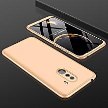 GKK Three Stage Splicing Full Coverage PC Case for Xiaomi POCO F1(Gold)