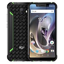 ZOJI Z33 Rugged Phone, Dual 4G, 3GB+32GB, IP68 Waterproof Dustproof Shockproof, Dual Back Cameras, 4600mAh Battery, Face ID & Fingerprint Unlock, 5.85 inch Android 8.1, 4G, OTG, Dual SIM, VoLTE(Green)