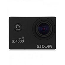 SJ4000 WiFi 1080P 1.5 inch LCD Action Camera Sport DV UK Plug - Black