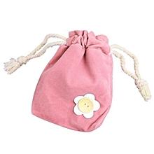 bluerdream-1x Finger Monkey Bags Portable Kids Play Storage Bag Toys Rug Box For Finger Monkey-Pink