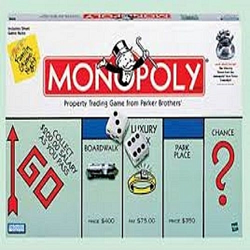 Buy Generic 2 In 1 Monopoly Board Game Best Price