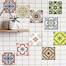 20pcs/1set Tile Sticker Kitchen Bathroom Diy Wall Sticker Refitted Wall Sticker