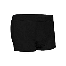 Black Good Quality All Weather Cotton Fitting Men Boxers