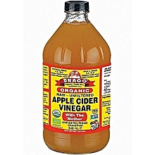 Organic Raw Unfiltered- Apple Cider Vinegar with 'the mother' - 946ml