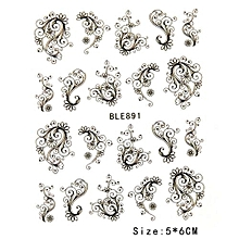 Hequeen 3D Butterfly DIY Nail Art Stickers Decals Manicure Beautiful Fashion Manicure Nail Tools Accessories Decoration
