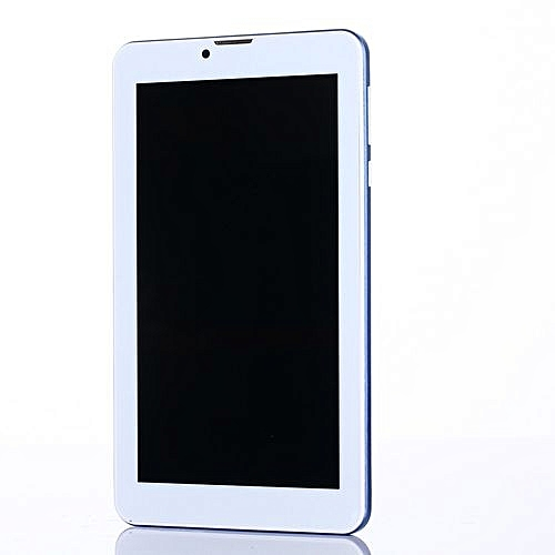 7 Inch HD Dual SIM Camera 3G Dual Core Tablet PC Android 4.4 WIFI Bluetooth -Blue