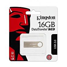 16GB - Data Traveler SE9- USB 2.0 - Silver