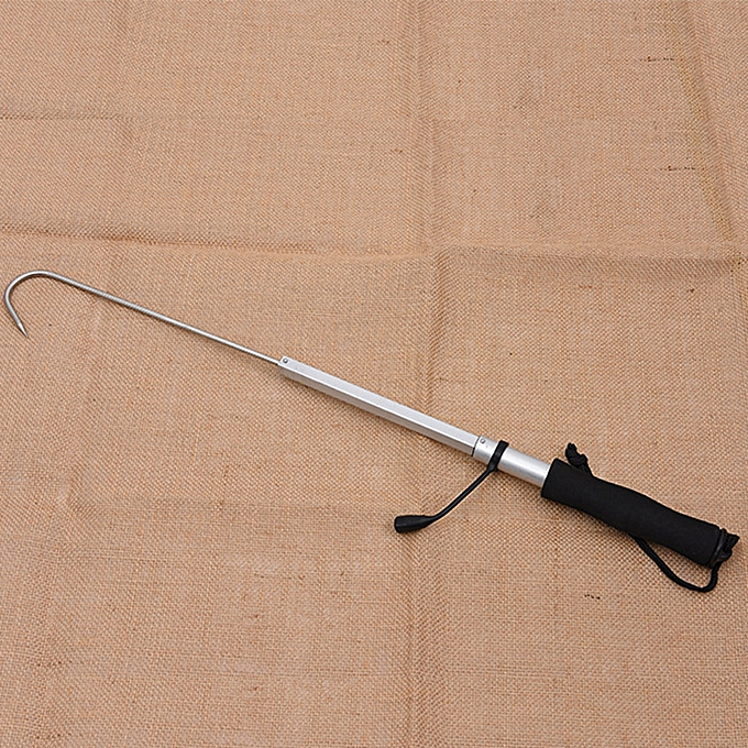 ... Portable Stainless Sea Fishing Telescopic Retractable Fish Gaff Tackle Spear Hook Fishing Gripper Tool ...