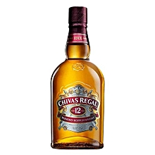 Chivas Regal 12 Year Old Blended Scotch Whisky - 1Ltr