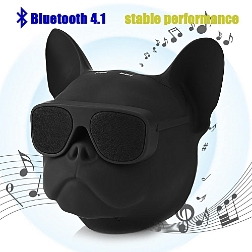 6408a6ba271a Generic Cute Dog Bluetooth Speaker Portable Dog Shaped Stereo Sound Music  Player Bluetooth Wireless Speaker