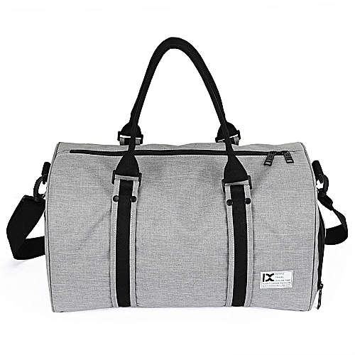 7379fdbd550 Generic 28L Waterproof Travel Duffele Bag with Separate Shoe Compartment  for Men Women Sports Gym Tote Bag