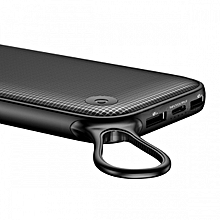 Portable Quick Charge 3.0 20000mAh Power Bank Dual USB Type-C External Battery Charger - Black