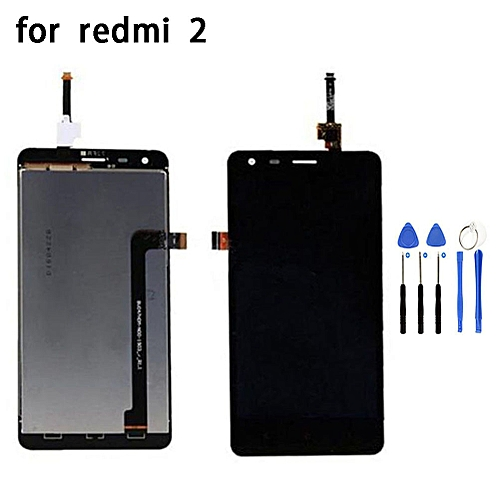 LCD Display+Touch Screen Replacement parts For Xiaomi Redmi 2 + Repair Tools