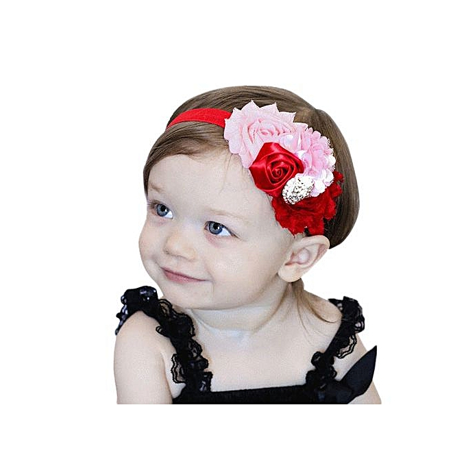 Fashion Braveayong Girls Headbands Rhinestone Rosebud Hair Accessories For  Girls Infant Hair Band -D 0e0e6c9cad0