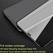 Pro+ Screen Protector for iPhone XS Max Full Coverage Tempered Glass for Apple iPhoneXS Max Full Glue Absord Automatic