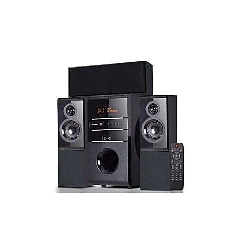 SHT -1142BT Sub Woofer Speaker System - Black
