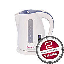 ST-EK8416 - Electric Jug Kettle - 1.7L - 2200W - White.
