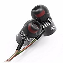 QKZ X3 In ear Metal Classic Bass Black HIFI Sound Earphones for Phone