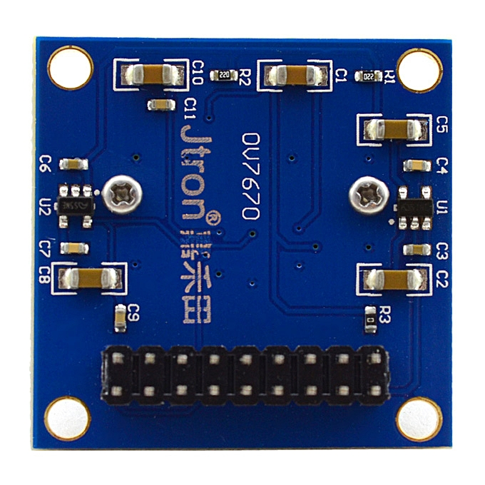 Jtron Practical OV7670 300KP VGA Camera Module for Arduino - Blue