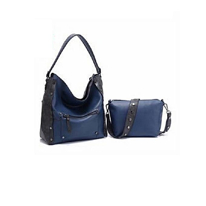 917ffa820849 Generic 2 in 1 Handbag - Navy Blue   Best Price