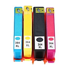 Non-OEM 4PCS  Ink Set Cartridge For HP 364XL Black/Cyan/Magenta/Yellow Ink