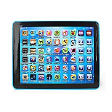 HP Children Touch Tablet Pad Learning Reading Machine Early Education Machine Blue - Blue
