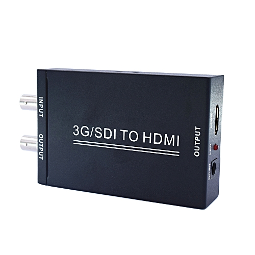 3G SDI to HDMI Converter SD-SDI, Support HD-SDI and 3G-SDI to HDMI/SDI  displays Adapter