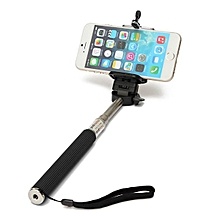 Selfie Stick and Mobile Phone Holder with Bluetooth Remote for iPhone Samsung Andriod
