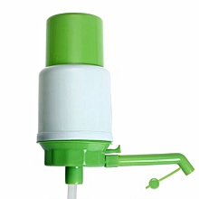 Fohting 5 Gallon Bottled Drinking Water Hand Press Manual Pump Dispenser New -Green