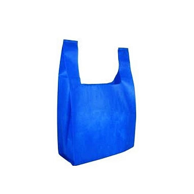 53cdfd508c Generic 1000 Pcs Of Small Size Grammage Blue Non Woven Shopping Bags ...