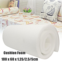 "High Density Upholstery Foam Seat Cushion Replacement - 24"" x 72"" # 1.25cm"