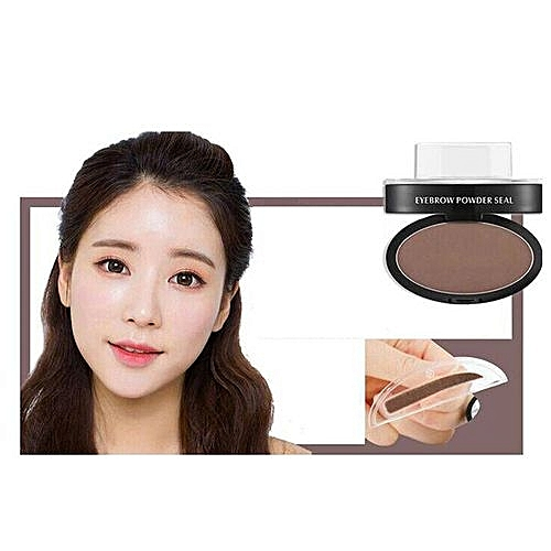 Generic Technologg Beauty Brow Stamp Powder Delicated Natural Perfect Enhancer Straight United Eyebrow As Show