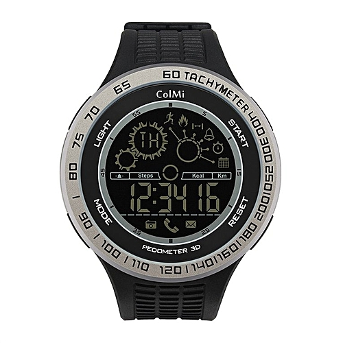 ColMi King Kong Sport Smart Watch Waterproof Passometer Ultra-long Standby Silver