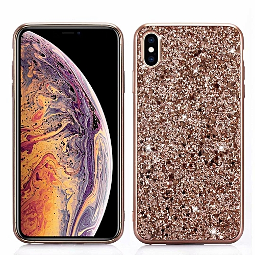 the latest c413a 754e8 For IPhone XS Max Case, Glitter Bling Crystal Shiny Heavy Duty Protection  Dual Layer Hybrid Protective Shell Soft PC+TPU Bumper Armor Hard Cover For  ...