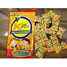 KIDDI 24/7 NUTRA GUMMIES -10 gummies