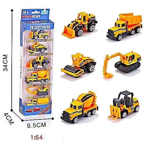 1:64 RC Dumper Truck Toy Engineering Truck Vehicles Alloy En