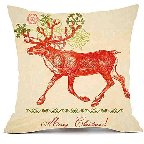 Christmas Pillows.Merry Christmas Pillows Cover Decor Pillow Case Sofa Waist Throw Cushion Cover E