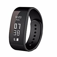 U3 Smartwatch Sleep Monitor Pedometer Sport Tracking(Black)