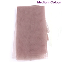 Medium Swiss Lace Net for Making Lace Wig- 1/2 Yard