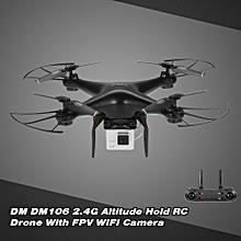 DM106 Drone WIFI FPV RC Quadcopter with 0.3MP Camera Altitude Hold RTF