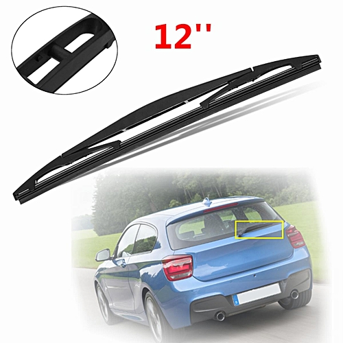 f14e92ccfa99 Generic 12   Rear Window Windscreen Wiper Blade For BMW 1 Series F20 F21  Hatchback 11-15