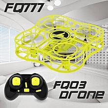 FQ03 Mini Drone Full Shields 360° Flip One Key Return Headless Mode RC Quadcopter for Beginner RTF