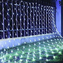 Network Lights Outdoor Waterproof Star Light String - EU PLUG - White
