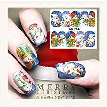 Nail Art Stamper Gel Tips DIY Stamping Drawing Image Template Stickers S