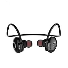 Awei A845BL Bluetooth V4.1 Noise Reduction Neckband Earphones-BLACK