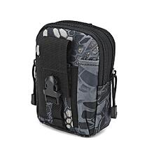 bluerdream-Camping Climbing Outdoor Phone Bag Waist Hip Belt Wallet Purse Case Pouch E-As Shown