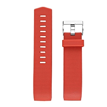 Replacement Silicone Rubber Band Strap Wristband Bracelet Waterproof Durable red
